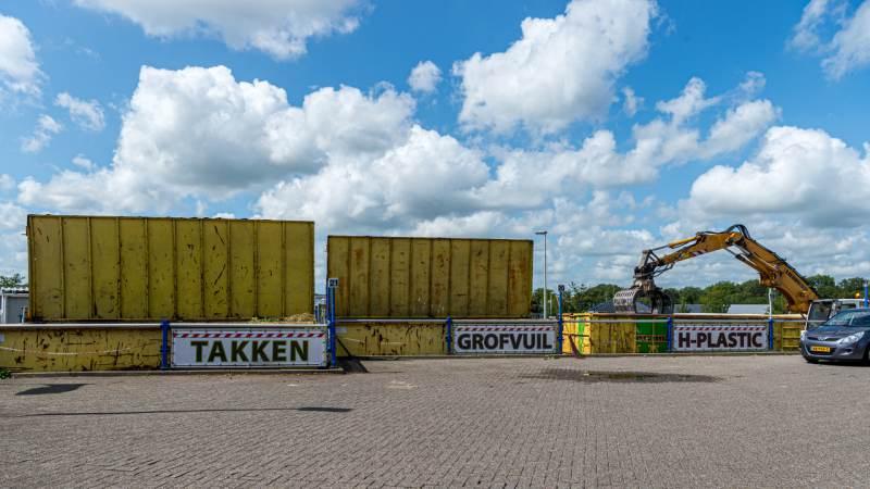 Milieustraat Purmerend per direct gesloten