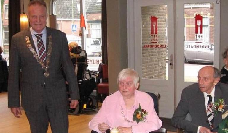 Echtpaar Boneveld-Boes zestig jaar getrouwd