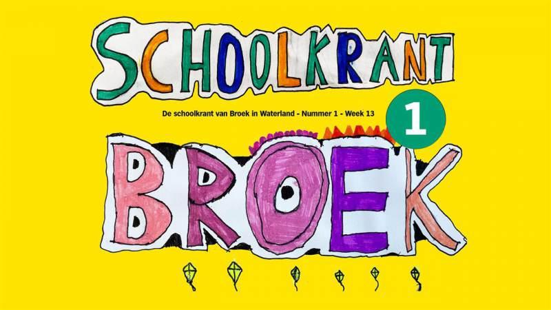 Oproep aan Broeker kinderen om samen schoolkrant te maken