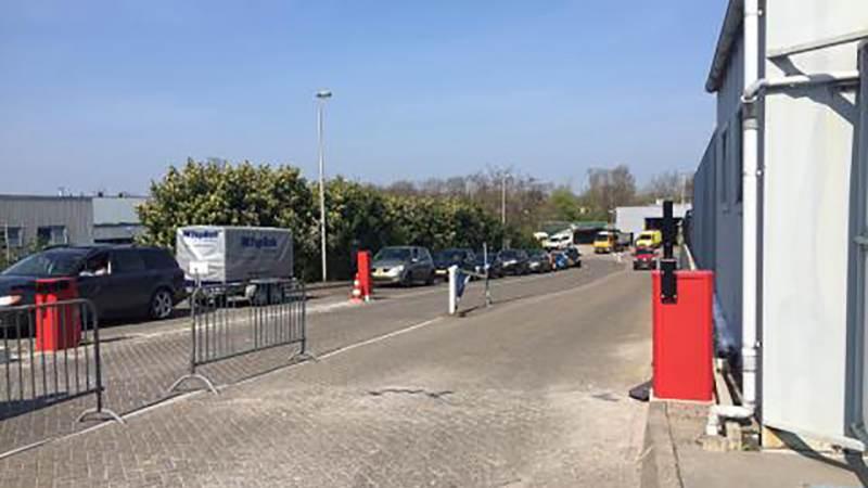 Grote drukte milieustraat Purmerend en afvalinzamelstation Edam-Volendam