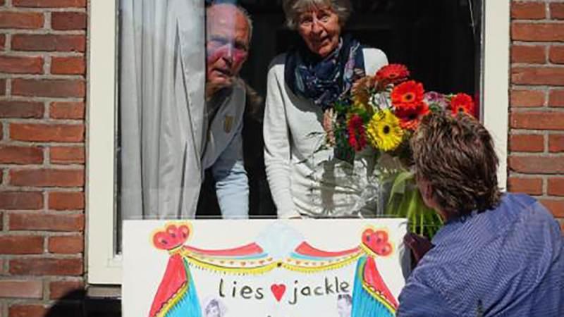 Echtpaar Blom uit Ilpendam 60 jaar getrouwd