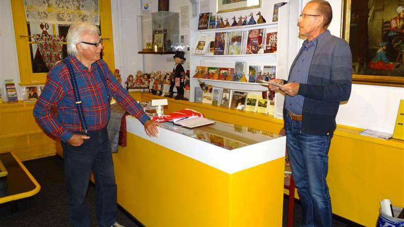 Pieter Korstman benoemd tot Erelid van 'Marker Museum'