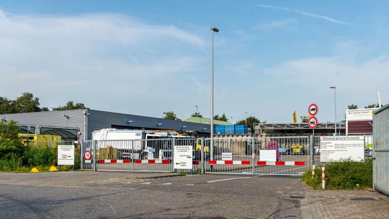 Milieustraat Purmerend ook op zaterdag open