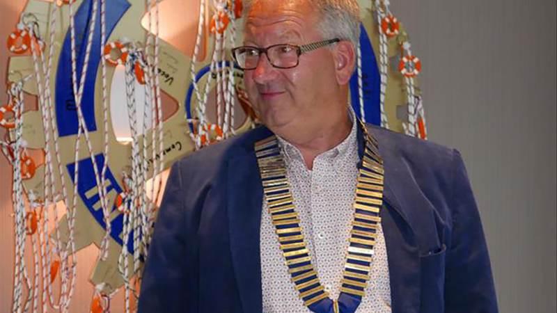 Nieuwe voorzitter voor Rotaryclub Monnickendam