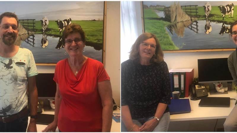 Drie docenten en directeur nemen afscheid van Rietlandenschool