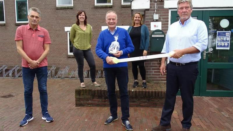 Burgemeester Heldoorn maakt kennis met Waterland