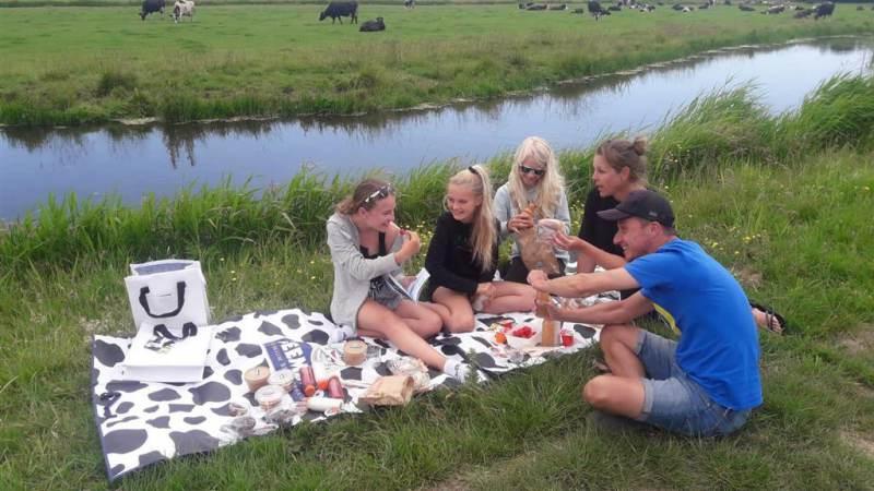 Beemster picknick bij 't Zuivelhuisje in Katwoude