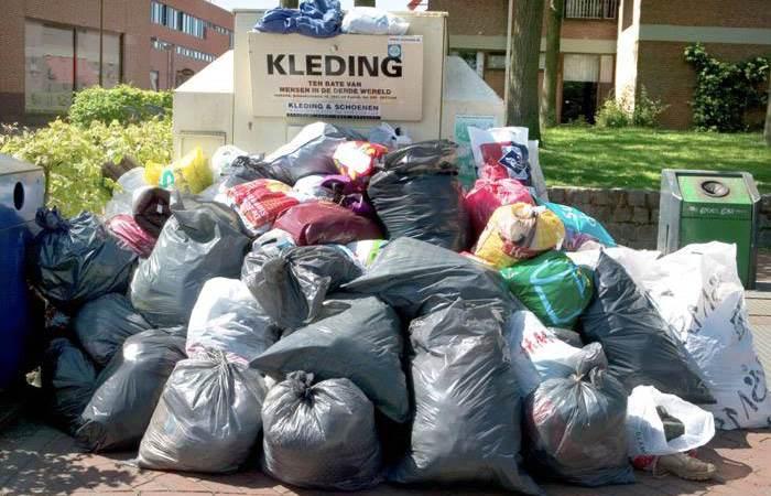 Kledinginzameling voor Dak en Thuislozen REGENBOOG Amsterdam
