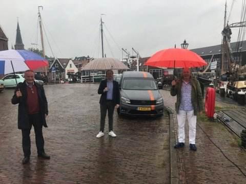 Burgemeester ontmoet stadsraad Monnickendam