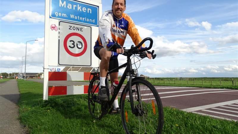 Walter Maas fietst 500.000 kilometer (virtueel 12 ½ keer de wereld rond)