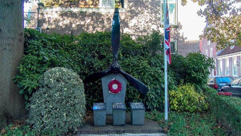 Remembrance Day herdenking op 8 november