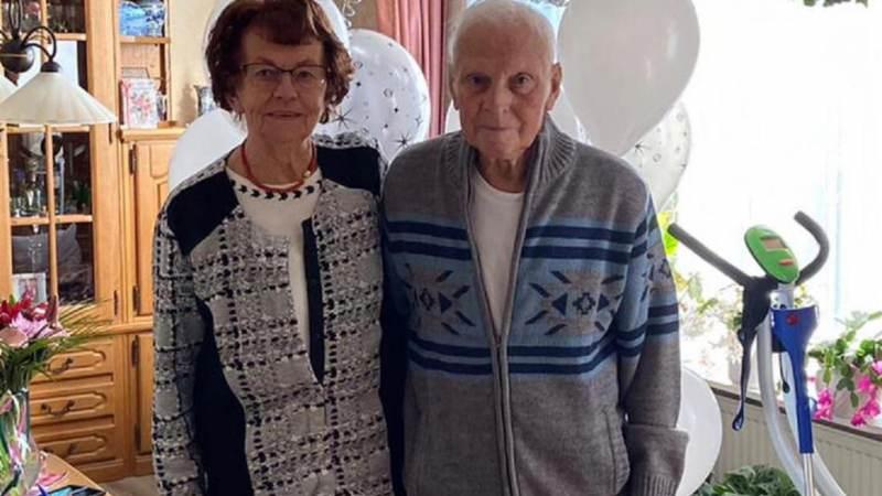 Echtpaar Boes-Teerhuis zestig jaar getrouwd