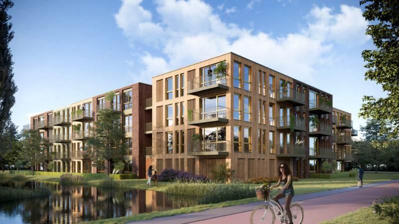 Doe maar Duurzaam - start prefabricage van een van de meest duurzame woongebouwen