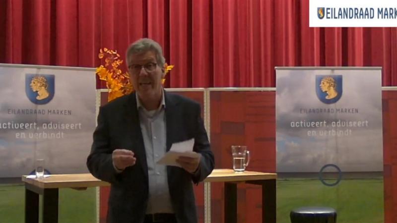 Geslaagde eerste online openbare vergadering Eilandraad Marken