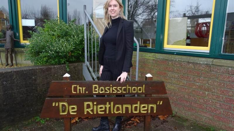 Rietlandenschool op Marken heeft een nieuwe directeur