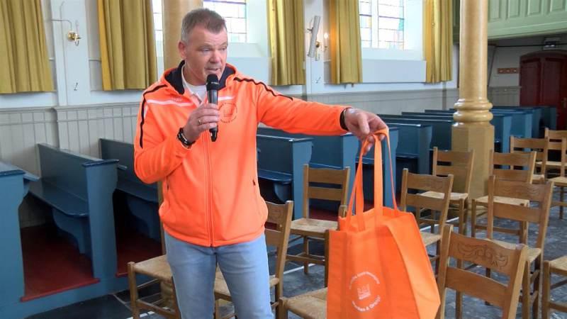 """Kennismaking burgemeester met Christelijke Oranje Vereniging """"Marken & Oranje"""""""