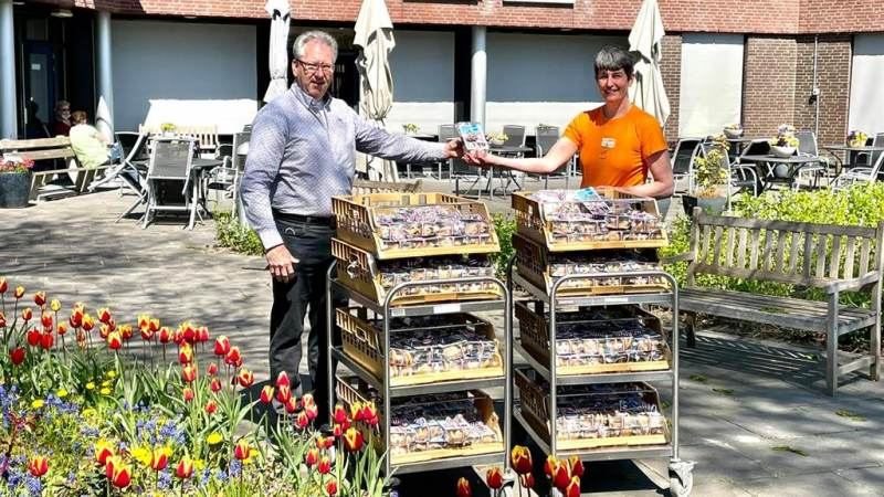 Rotary Monnickendam trakteert medewerkers Swaensborch