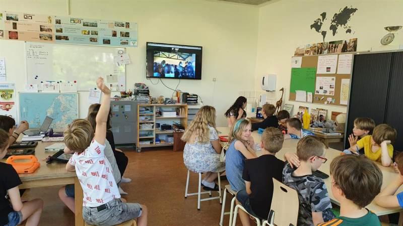 Fundraising op basisschool De Verwondering in Monnickendam
