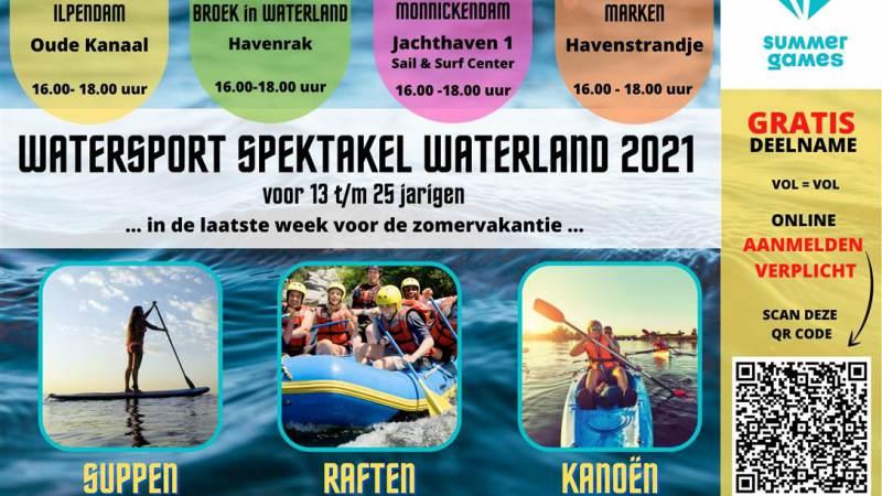 Watersport Spektakel Waterland 2021