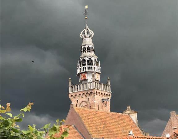 Onweer boven Monnickendam