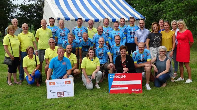 Marker Charity Ride levert € 23.020,40 op