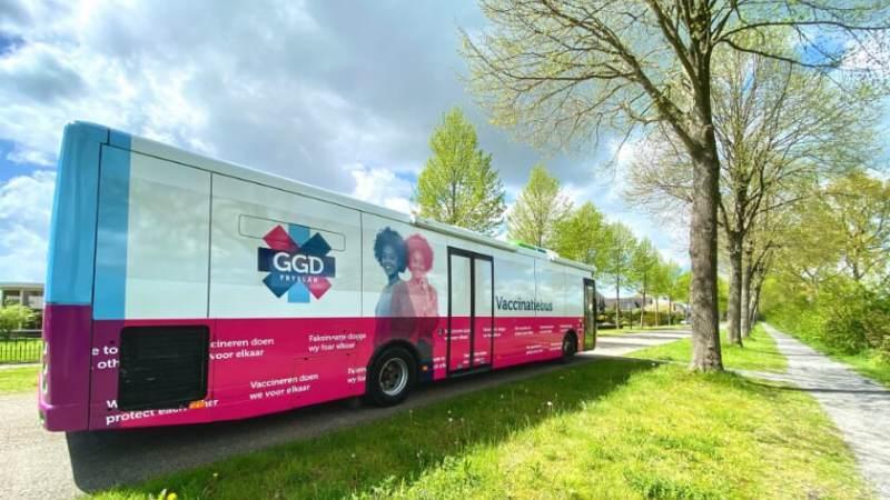 GGD Zaanstreek-Waterland zet prikbus in