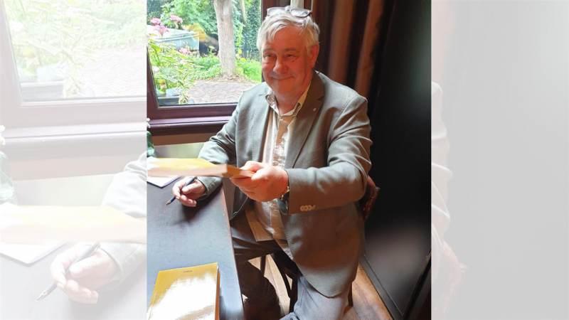 Boeklancering 'n Kleine coronaroman' van Jan Heutink