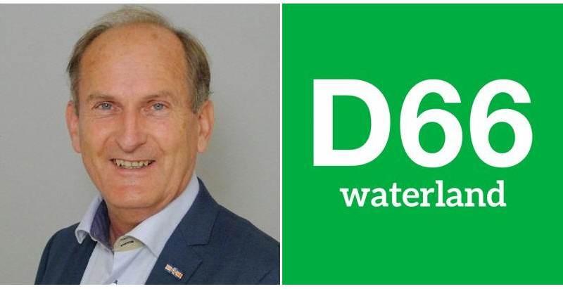 Hendrik Boland nieuwe D66 wethouder in Waterland