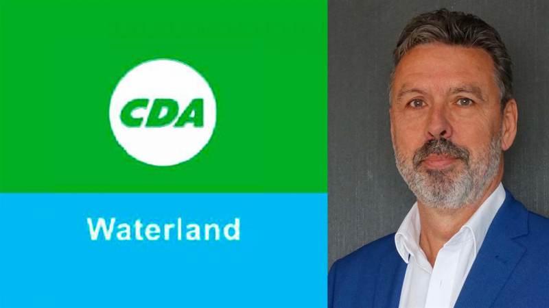 Bert Enderink nieuwe fractievoorzitter CDA Waterland