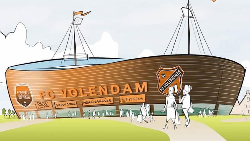 FC Volendam onderzoekt mogelijkheden nieuw stadion
