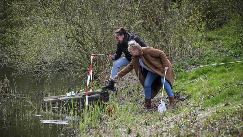 Hoogheemraadschap roept op om zwerfafval te rapen op en rondom water
