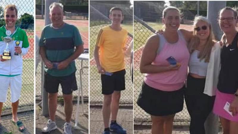 Winnaars clubkampioenschappen Tennis Club Marken 2021