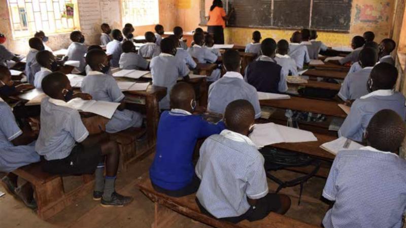 Sam's Kledingactie voor schoolkinderen in Oeganda