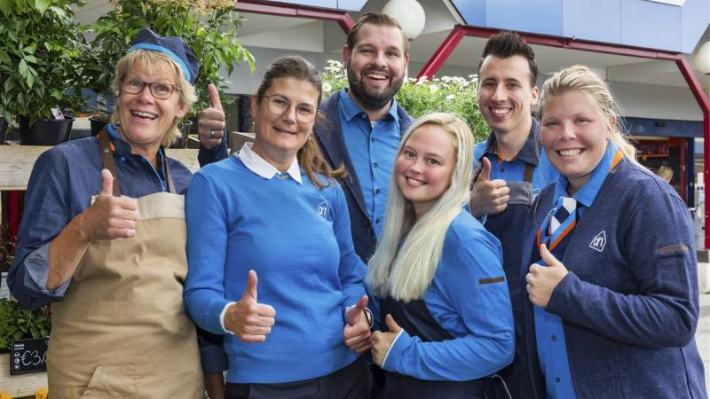 Vertrouwd winkelteam in gloednieuwe Albert Heijn Monnickendam 't Spil