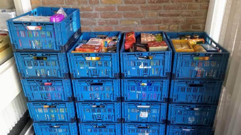 Inzameling voedselbank Monnickendam 9 oktober