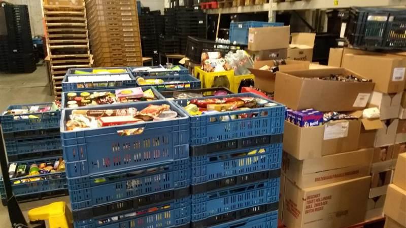 Inzameling Voedselbank wederom groot succes