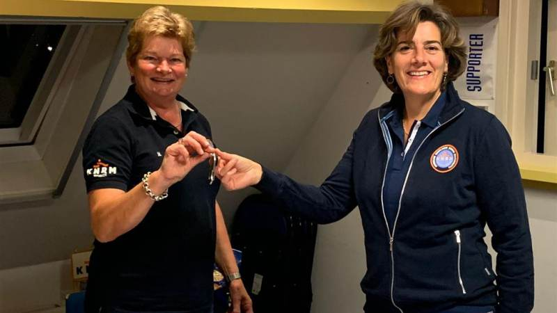 Marian van der Weele nieuwe voorzitter KNRM station Marken