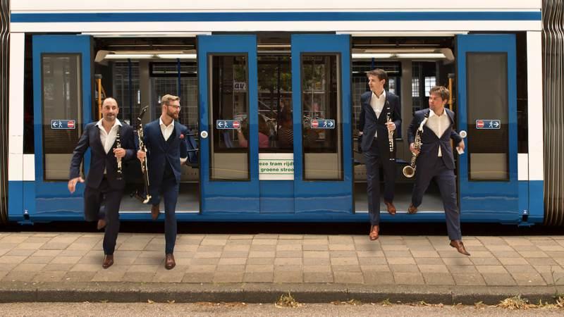 Concert in Zuiderwoude: klarinetkwartet brengt ode aan Amsterdam