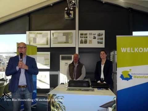 Bedrijfsbezoek Ondernemersvereniging Waterland aan Poort van Amsterdam