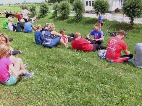 Bijna 400 deelnemers aan Blubberrace in Overleek