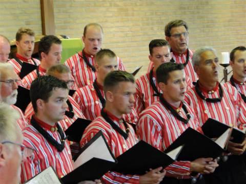 Zomerzangavond op Marken met het Urker Mannenkoor 'Hallelujah'