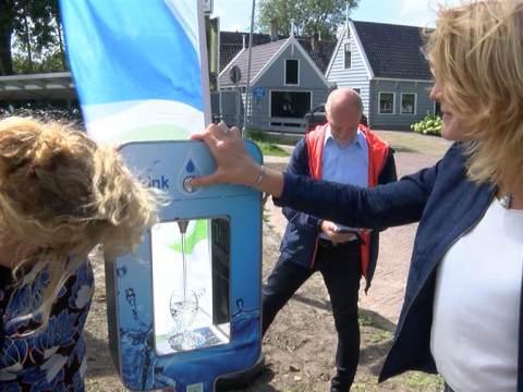 Waterpunt Broek in Waterland officieel geopend
