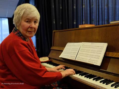 Jubileum pianiste Gerda Zandstra