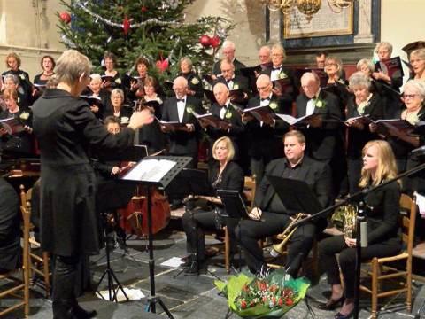 Kerstconcert van Gemengd Koor Broek in Waterland elke dag om 17.00 uur bij PIM