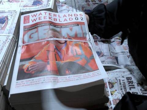Eerste editie Waterlands Weekblad valt in heel Waterland op de mat