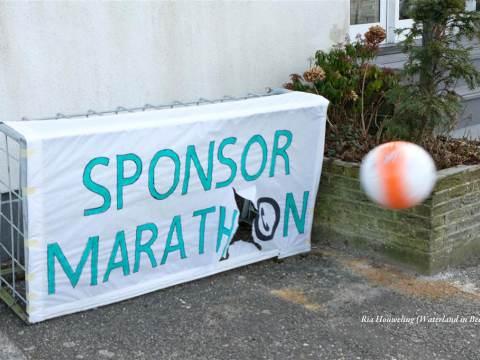IJskoude aftrap Sponsormarathon Huis aan het Water