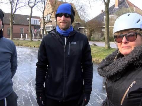 Schaatspret in Ilpendam en Overleek
