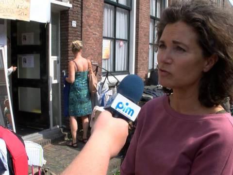 Actie Vintage Brands tijdens braderie levert 750 euro op voor Huis aan het Water