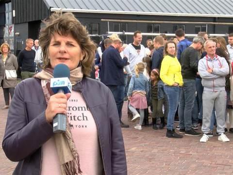 Groots onthaal voor Cor Martis na fietstocht van Maastricht naar Monnickendam