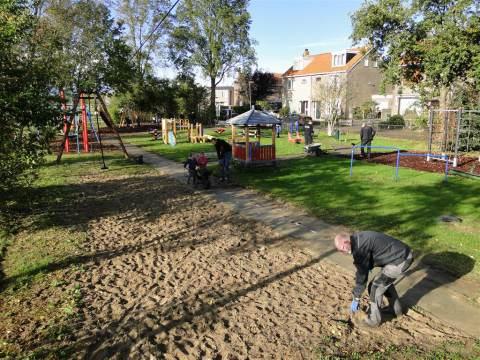 Speeltuin op Marken is weer netjes en klaar voor de winter